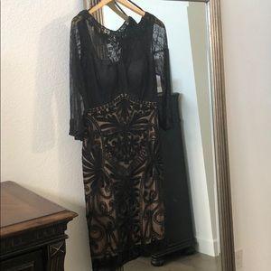 Sue Wong soutache evening dress